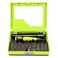 Wholesale Household Repair Tool Set - 53 in 1 Professional Multi-Bit Precision Torx Screwdriver Tweezer Cell Phone Repair Tool screwdrivers Set for Iphone ferramentas