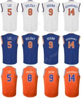 Wholesale Willy S - Wholesale Printed 8 Justin Holiday Jersey Man 9 Kyle O'Quinn 14 Willy Hernangomez 5 Courtney Lee Basketball Jerseys Cheap Blue White Orange