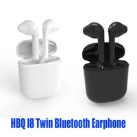 Wholesale Buetooth Headset - Wireless Buetooth HBQ I8 Earphone With Charger Box For Android Samsung HTC Sony Apple iPhone Twins Mini Headphone Stereo Earbuds Headset