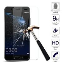 película protectora de pantalla antichoque al por mayor-Para Huawei Honor 6X 7 8 P8 P9 Lite P10 Plus 9H 0.26mm 2.5D Cristal templado protector de pantalla antichoque Película