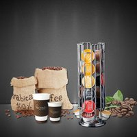 Wholesale Dolce Gusto Tower Stand Top Home Solutions Layers Revolving Rotating Capsule Coffee Pod Holder Rack For Dolce Gusto