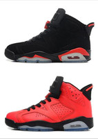 Wholesale Pink Silk For Sale - NEW air retro 6 cheap basketball shoes Olympic red black New Arrival Fashion Infrared Carmine Sneaker Sport Shoe For Online Sale