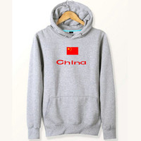 China flag hoodies Große Land-Sweat-Shirts Country-Fleece-Kleidung Pullover Sweatshirts Outdoor-Sport-Mantel Gebürstete Jacken