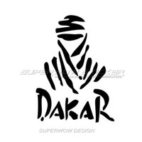 Wholesale Stickers Rally - Dakar Car Sticker Reflective waterproof Sticker Funny personality Cross country purgatory rally personalized decals Body stickers