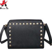 Wholesale Leather Totes For Women - Wholesale-Atrra-Yo! 2016 women bags for women handbag famous brands leather handbags luxury messenger bags cross body bolsos tote LS4664ay