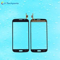 Wholesale Mega Logo - For Samsung Galaxy Mega 5.8 i9150 Front Touch Screen Digitizer Panel Glass Duos i9152 Replacement with Logo,Black White