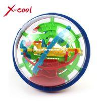 bola de quebra-cabeça magnética venda por atacado-XC929A 2015 New Magic Puzzle Bola Educacional Magic Intellect Bola Jogo de Puzzle Bolas Magnéticas para Crianças-100 Passos