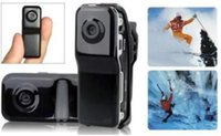 Wholesale Retail Digital Cameras - Mini DVR Camcorder Sport Video Recorder Digital Spy Hidden Camera Web Cam MD80 with retail box