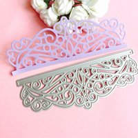 Wholesale Craft Stencils - Lace DIY Metal Cutting Dies Stencil Scrapbook Card Album Paper Embossing Craft
