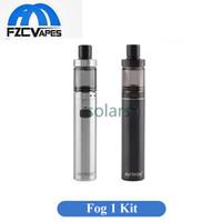 Wholesale cigarette refills - Authentic Justfog Fog 1 Starter Kit 1500mAh Top Refilling 1.99mm E Cigarette Vape Pen 20mm Diameter