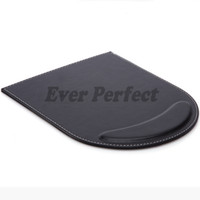 Wholesale Pink Gaming Mouse - Wholesale- Double Leather Mouse Pad Mice Mat Gaming With Wrist Comfort Rest Computer Desk Stationery Accessories A182