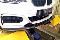 Wholesale Carbon Fiber Front Lip Spoiler F22 i i Series M Sport Bumper Fit For BMW