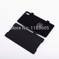 Wholesale External Battery For Xperia - For Sony Xperia Z2 L50W L50U L50T 3500mah Rechargeable External Battery Charger Case Power Bank Case foo Sony Z2