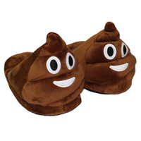 Wholesale Warm House Slippers Women - Funny Unisex Winter Mens Plush Slippers Indoor Emoji House Shoes Women Warm Creative Expression Cute Women Slippers Female