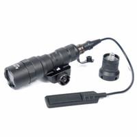 mini lanternas táticas venda por atacado-Marcação Tático M300B Mini Scout Rifle Lanterna Luz Para 20mm Picatinny Rail para a caça