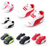 Wholesale Baby Girl Shoes Rubber Soles - New Red sole PU Leather Newborn Baby Boy Girl Baby Moccasins Soft Moccs Shoes Bebe Fringe Soft Soled Non-slip Footwear Crib Shoe