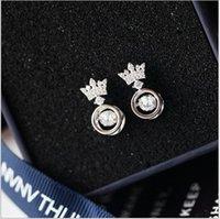 neuankömmlinge silberkorea großhandel-Die herz halskette von 925 silber ist südkorea vertraglich modische crown weibliche reine collarbone neue ankunft