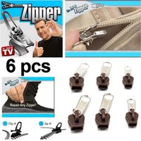 Wholesale YKS018 New Hot TV Fix A Zipper Zip Slider Rescue Instant Repair Kit Replacement