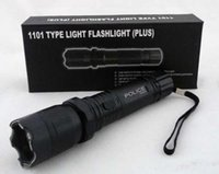 Wholesale Led Diving Flashlight Dive Torch - Hot Sale New 1101 Type Edc Linternas Light Cree Led Tactical Flashlight Lanterna Self defense Torch 18650(built-in) Free Shipping
