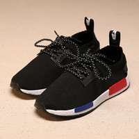 Wholesale Shoes Size 25 - Newest Fashion Basketball Running Shoe Children Boys and Girls Child Shoes Kids Breathable Sneakers Size 25-37