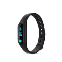 Wholesale Waterproof Remote Control Buttons - Colorful C6 Smart Wristband OLED Display touch button Fitness Bracelet Heart Rate Monitor Sleep Tracker Pedometer Health Clock