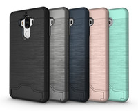 Wholesale blue grass covers - Card Slot Case For Huawei Mate9 Armor case hard shell back cover with kickstand case for P10,P10plus,Zenfone3,Oneplus3 3T
