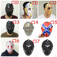 Archaistic Jason Mask Full Face Antique Killer Mask Jason vs sexta-feira The 13th Prop Terror Hockey Halloween Costume Cosplay Mask DHL Free ZZ