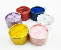 Discount discount-discount - 24pcs 5.3*5.3*3.5cm Colorful Round Shape Small Jewellery Gift Case Boxes for Ring Earrings Jewelry Display