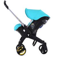 Wholesale Baby Sleeping Basket Portable - Wholesale- Portable Baby Stroller 4 in 1 Newborn Infant Sleeping Basket Baby Child Car Safety Seat Stroller Folding Pram high quality