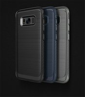 Wholesale Crafts Wholesale For Phone Cases - Newest for Samsung Galaxy S8 phone shell S8 all-inclusive S8 + TPU soft shell protective case Good craft