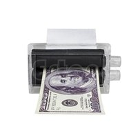 Wholesale Money Makers - Wholesale- 1PC New Magic Trick Easy Money Printing Machine Money Maker