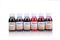 Wholesale Phoenix Bodies - Free Shipping Body Tattoo Spray Pigments 6 bottles of 100ml Golden Phoenix Airbrush Tattoo Common Ink for Temporary Tattoo Design