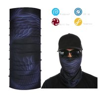 Vente en gros- Magic Bandana transparente multifonctions Neck Gaiter Tube écharpe