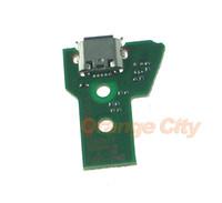 tarjeta de puerto usb al por mayor-Piezas de reparación de reemplazo de placa de cargador de puerto de puerto USB para PS4 Controlador JDS-040 JDS040 Junta