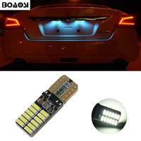 Wholesale Opel Light For Car - BOAOSI LED T10 Canbus W5W Car Bulbs 4014 SMD Interior Lights License Plate Lights For Opel Adam Corsa C Corsa C Combo Corsa D Astra H