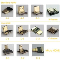 Wholesale Super Soft Cable Mini Micro HDMI Interface Head Spare parts accessories For DIY FPV