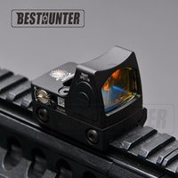 Wholesale Hunting Sights - Trijicon RMR holographic Style Glock Red Dot Sight Scope Reflex Sight Tactical Shotgun Sight For Hunting Rifle Scope