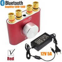 Wholesale Bluetooth Receiver T - 2017 Brand New 50W*2 Bluetooth 100W Amplifier HiFi DIY Stereo Audio Receiver F900 with Power Supply FREE SHIPPING-10000693_R