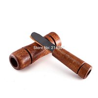 Wholesale Game Caller - Wholesale-Wood HandMade Duck Calls Hunting Accessories Duck Sound Caller Hunter Whistle Game Calls Hunting Gear Free Ship