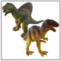 Wholesale Model Spines - Simulation Model Of Children Plastic Toy Dinosaur Outfit T-rex Tyrannosaurus Rex Triceratops Stegosaurus Spine Back A Dragon Free DHL