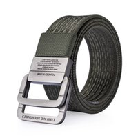 Wholesale Military Green Canvas Belt - Nylon Belt men Army Tactical Belts man Military Waist Canvas male High Quality Equipment Strap ceinture homme