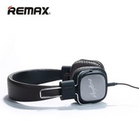Remax RM-100H Stereo cuffie Soft Ear Cuffie HIFI Sound con Micphone per il telefono cellulare MP3 4 PC