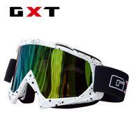 Wholesale Wholesale Racing Helmets - Wholesale- Free shipping top quality professional motorcycle helmet goggles gafas racing winproof motor cross helmet glasses