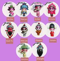 7Pcs Mini Chinese Peking Opera Mask Bookmark Classical Reading Accessories SEAU