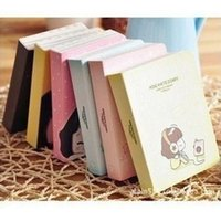 Vente en gros - Mini Cute Cookyshop Girl Journal Notebook Mode Kawaii Cartoon Lined Paper Journal Livre Papeterie coréenne Livraison gratuite 1410