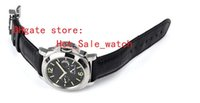 Wholesale Pam Power Reserve - Top Quality brand Power Reserve 44 mm Pam 90 00090 Pam90 Black Dial High quality Automatic Mens Watch Watches