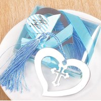 Wholesale first communion gifts resale online - My Heart Bookmark Party Favours Souvenirs First Communion Birthday Baby Shower Wedding Favors and Gifts For Guest ZA3033
