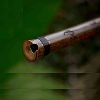 Wholesale Master Sounds - ZWB006 Xiao three parts Traditional Handmade Professional sound quality Chinese Bamboo flute Cost-effective By Master Zhan WenBing