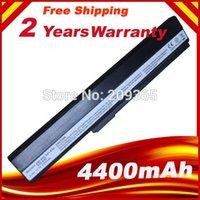 Wholesale Asus K52je - Wholesale- 6Cells Rechargeable Battery Pack For ASUS K52J K52JB K52JC K52JE K52JK K52JR K52N K52EQ K52JT K52JU K62F K62J K62JR Laptop