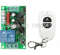 mini rf sender empfänger großhandel-Großhandel-AC220V 1CH RF Wireless Mini Switch Relais Empfänger Fernbedienungen Weiß AB Tasten Wasserdichte Sender Toggle Momentary